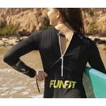 Maiô Feminino Funfit - M/L Surf Club Wetsuit