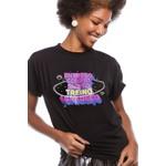 Camiseta Feminina Funfit - Entrego, Confio, Surto, Treino e Agradeço.