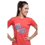 Camiseta Feminina Funfit - Entendi Bora Comer Laranja
