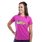 Camiseta Feminina Funfit - Ligeirinho Rosa