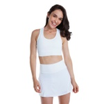 Top Feminino Funfit - Infinity Branco