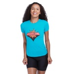 Camiseta Feminina Funfit - Maravilhosa Azul