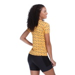 Camiseta Feminina Funfit - Cactos Amarelo