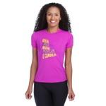 Camiseta Feminina Funfit - Quero Ver Rosa