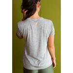 Camiseta Feminina Funfit - Meditar Para Não Surtar Cinza
