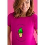 Camiseta Feminina Funfit - Eu Poderia Estar Comendo