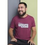 Camiseta Masculina Funfit - Devagar Não De Boas