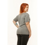 Camiseta Feminina Funfit - Eco Friendly Cinza
