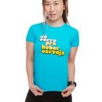 Camiseta Feminina Funfit - Só Corro Pra Beber Cerveja 2021