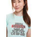 Camiseta Feminina Funfit - Essa Barra Que É Gostar De Comer