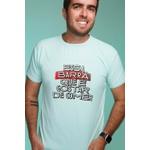 Camiseta Masculina Funfit - Essa Barra Que É Gostar De Comer