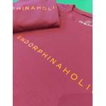 Camiseta Feminina Funfit - Endorphinaholic Bordô