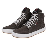 Sapatênis Masculino em Couro Cinza Sneakers Galway 505