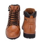 Bota Coturno Masculina em Couro Whisky Galway 923