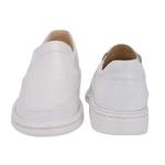 Sapato Masculino Conforto em Couro Branco Tipo Anti-Stress Galway 2001