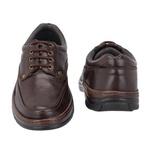 Sapato Masculino Casual Em Couro Café Com Cadarço Galway 2020