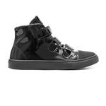 Tênis Sneaker Verniz Gats Menina Cano Alto