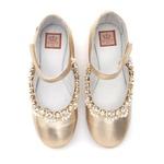 Sapato Boneca Bordado Infantil Gats