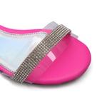 Sandália Feminina Infantil Neon Pink Gats