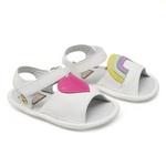 Sandália Branca Baby Gats