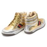 Tênis Sneaker Dourado Infantil Gats