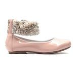 Sapato de Tornozeleiras de Verniz Infantil Gats