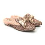 Flat Mule Glitter Infantil Gats