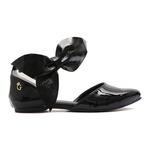 Sapato Maxxi Bow Preto Infantil Gats