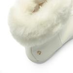 Bota Branca com Pêlo Infantil Gats