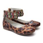 Sapato Tornozeleiras de Onça Infantil Gats