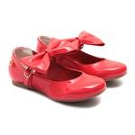 Sapato Boneca Laço Vermelho Infantil Gats