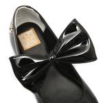 Sapato Boneca Laço Preto Infantil Gats