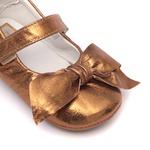 Sapatinho Cristal Bronze Baby