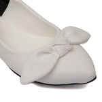 Sapatilha Lycra Glitter Branco