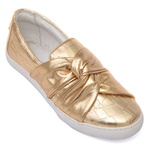 Slip On Croco Dourado Infantil Gats