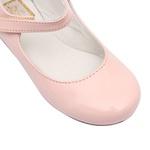 Sapato Feminino Verniz Quartzo