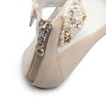 Sapato de Tornozeleiras Baby Perola