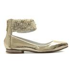 Sapato de Tornozeleiras Fira Champagne