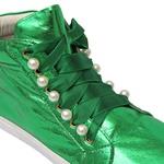 Tênis Infantil Bordado Verde Gats
