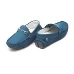 Mocassim Infantil Masculino Azul Gats