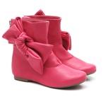 Bota de Laço Lateral Pink