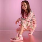 Tênis Sneaker Metalizado Gats Menina Perolas