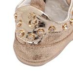 Tênis Dourado Baby Feminino Gats
