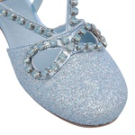 Sandália de Strass Infantil Gats