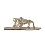 Sandália Rasteira Seahorse Dourado
