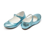 Sapatilha Boneca Azul Cristal