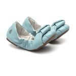 Sapatilha Elástico Azul