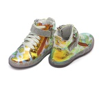 Tênis Sneaker Holográfico Animal Print