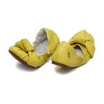 Sapatilha Elástico Amarelo Isis
