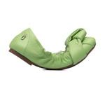 Sapatilha Elástico Verde